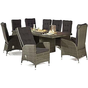 sitzgruppe gartenset barcelona dining 6x 148204 1x 148206 wholesaler lc garden. Black Bedroom Furniture Sets. Home Design Ideas