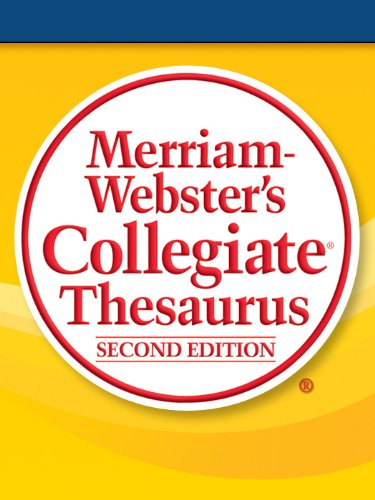Merriam-Webster's Collegiate Thesaurus, Second Edition (English Edition)