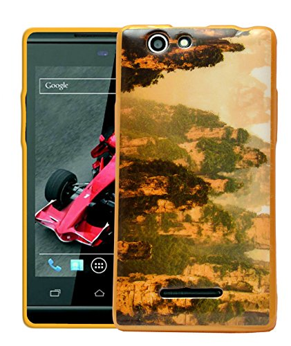 ECellStreet Printed Back Case Cover For Xolo A500s - Mountain  available at amazon for Rs.189