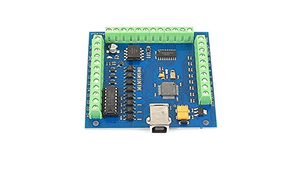 SainSmart 4 Axis Mach3 USB CNC Motion Controller Card Interface