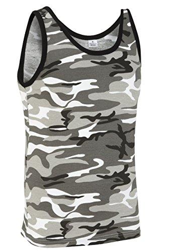 Camouflage Militär Weste - Stadt Camouflage (XS) -