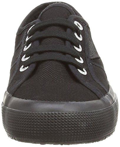 Superga 2750 Jcot Classic, Sneakers Basses Mixte enfant Noir (total Black)