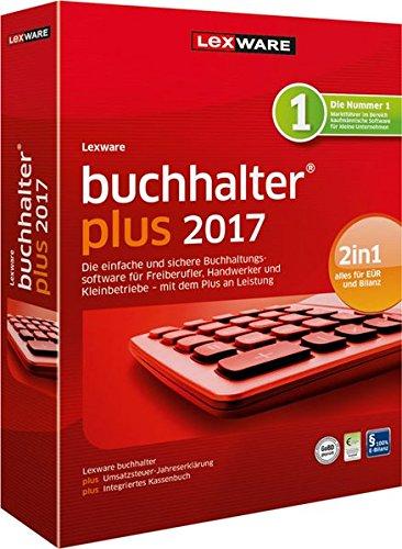 Lexware buchhalter 2017 plus-Version Minibox (Jahreslizenz) / Einfache Buchhaltungs-Software für Freiberufler, Handwerker, Kleinunternehmen & Vereine / Kompatibel mit Windows 7 oder aktueller