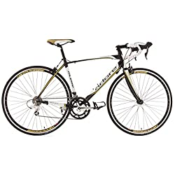 """KS Cycling Palermo de Adore - Bicicleta de carretera, color blanco, ruedas 28"""", cuadro 59 cm"""
