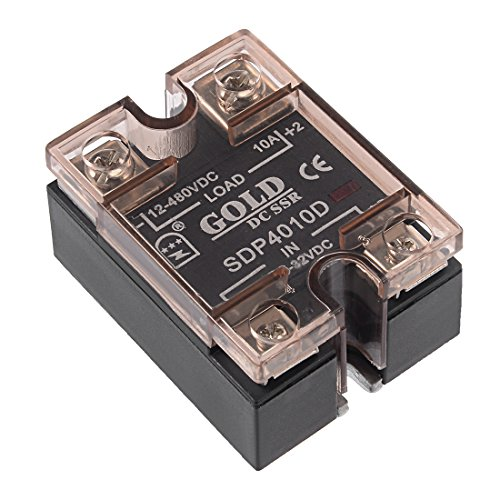 sourcing map SDP4010D 3,5-32VDC zu 12-480VDC 10A Single Phase Solid Stand Relais Modul DD de