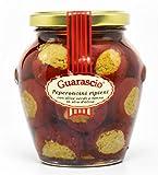 PEPERONCINI Ripieni con Olive Verdi e Tonno all'Olio d'Oliva - Sott'oli - Prodotti Tipici Calabresi
