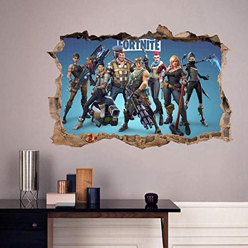 Adhesivo de decoración de PVC Adecuado Para Fortnite Night Game decoración de PVC