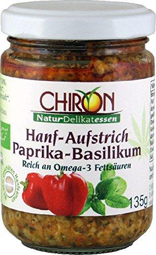 Bio Hanf-Aufstrich Paprika-Basilikum kbA 135g