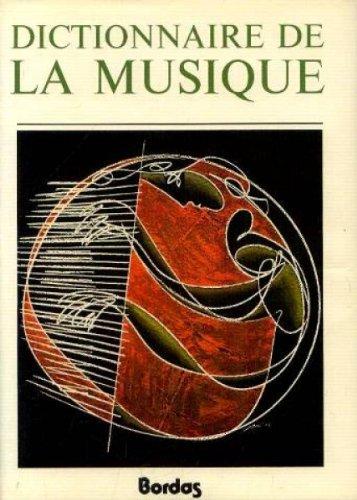 Dictionnaire de la musique 2 volumes