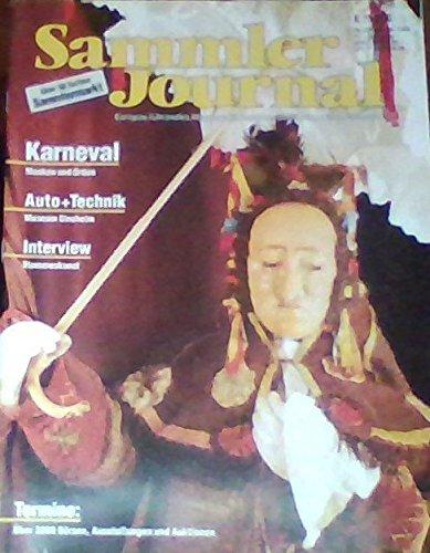 Sammler Journal 2/92 - Karneval (Masken und Orden), Auto + Technik (Museum Sinsheim), (Sammler Maske)