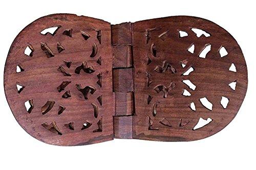 Dank Gib Geschenk für deine Geliebten,Holz Folding Religiöse Buch Stand-Halter-Blumen-Entwurf Curved, Gebrauch Religiöse Bücher, Zeitschriften, Koch Bücher zu lesen.