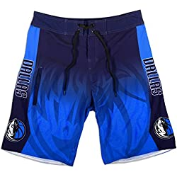 Forever Collect Duque De Baloncesto De Dallas Mavericks NBA Bañador – Bañador para hombre multicolor