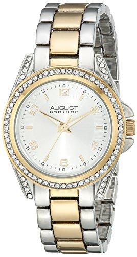 August Steiner Analog Silver Dial Women's Watch-AS8149TTG image