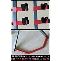 Gear Up Extra Bike Kit Porta-Biciclette, Nero