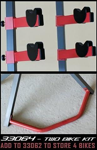 Gear Up Bike Rack Extra Set für Platinum Halter für 2 Bikes Modell 33062, GUP33064