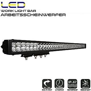 AFTERPARTZ D4 LED Arbeitsscheinwerfer Bar Reflektor-Lichtschale OSRAM Chips 27250LM Combo Scheinwerfer Arbeitslicht (40