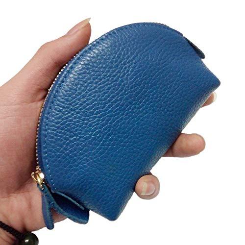 LXIANGP Frauen geldbörse Leder Mini münztüte reißverschluss Shell Wallet Student Nette schlüsseltasche, länge 12 cm hoch 9 cm Dicke 2,5 cm