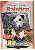 Royal & Langnickel 11 x 15 inch Friends at Play Pre-Printed Paint by Number Painting Set