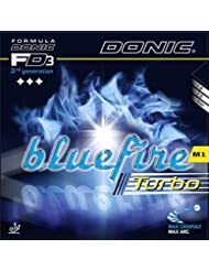 Donic caoutchouc Bluefire M1 Turbo, options d' 2,3 mm, rouge