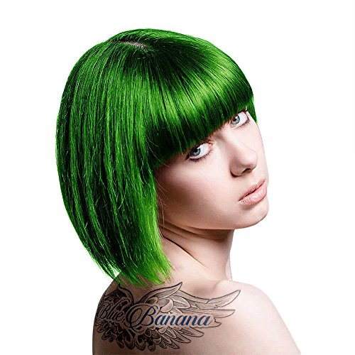 Coloration cheveux vert emeraude