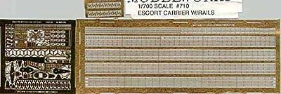 Tom's Modelworks 0710 Fotoätzteilesatz Escort Carrier w/Rails 1/700 von Tom's Modelworks