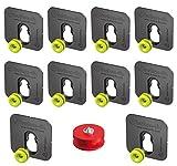 Knopf Fix Halterung Typ 1Bonded Marker Guide Set für die Verklebung Platten x10