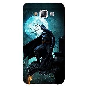 Jugaaduu Superheroes Batman Dark knight Back Cover Case For Samsung Galaxy E7