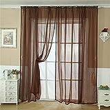 Amazon.fr : Marron - Rideaux et draperies / Décoration de fenêtres ...