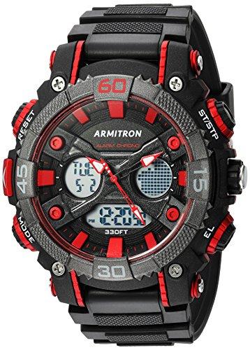 armitron-sport-homme-20-5108red-analogique-et-digital-noir-et-rouge-montre