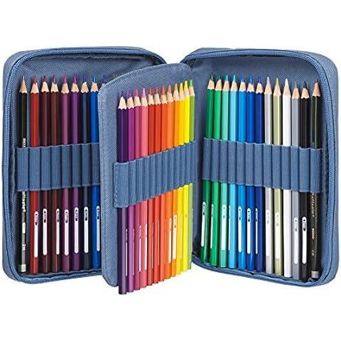 guiverno Art–la Azure de lápices de colores–Juego de 48lápices de colores, de primera calidad Classic–dos