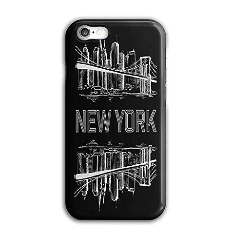 NY Stadt Landschaft Mode Groß Apfel iPhone 8 Hülle | Wellcoda
