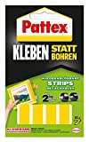 Pattex Doppelseitige Strips 10 Stück, 451/107