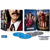 Anchorman: The Legend of Ron Burgundy + Anchorman 2: The Legend Continues - Exclusive Steelbook (US-Import ohne deutschen Ton) Blu-ray