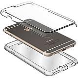 Funda Silicona 3D iPhone 6 / 6s (Transparente Frontal + Trasera)