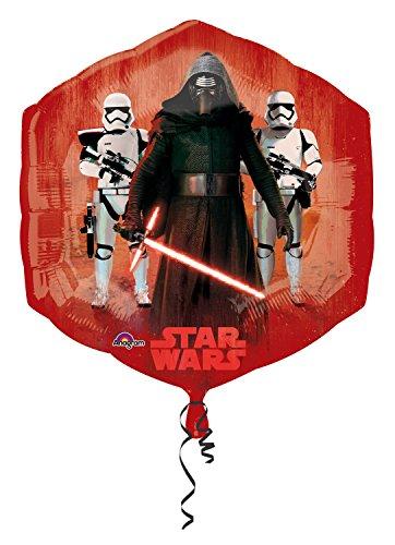 amscan Anagram 3162401 - Folienballon Super Shape, Disney Star Wars Episode VII, Good und Bad Characters, 55 x 58 cm