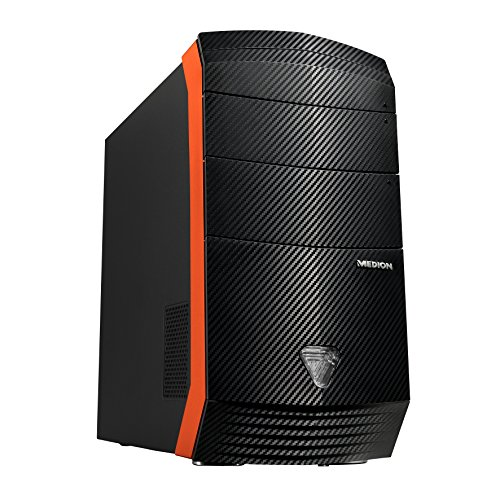 Medion Erazer X5332 F/B622 desktop-PC(Intel Core i7-4790, 3,6 gHz, 16 GB RAM, 256 GB SSD, 4 TB de disco duro, NVIDIA GeForce GTX 970 4 GB GDDR5, Win 10 Home)