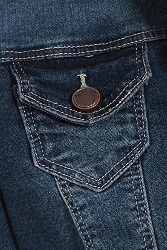 SS7 nouvelles femmes Veste En Jeans, Tailles 36 à 44 Jeans Bleu Vintage