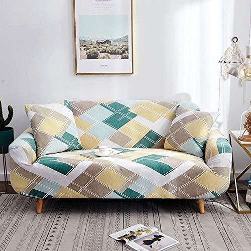 AMZJIEFU Funda para Sofa,Juego de sofás de 20 Colores Muebles de Sala...