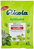 Ricola Apfelminze Schweizer Kräuterbonbons ohne Zucker, 75g, 6er Pack (6 x 75 g)