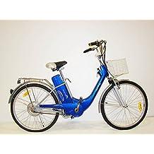 Bicicleta Electrica HG Azul