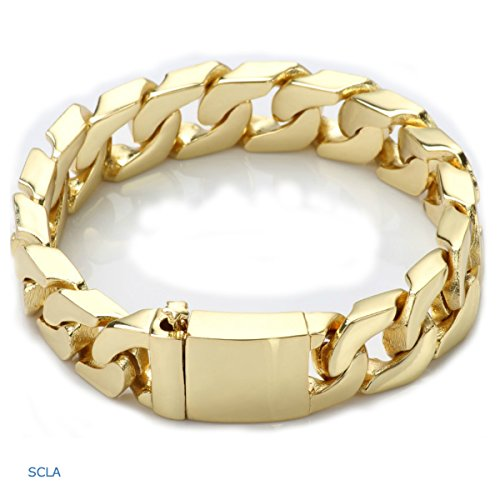 (24k cuban bracelet  -  24k  Vergoldet NA    keine Angabe )