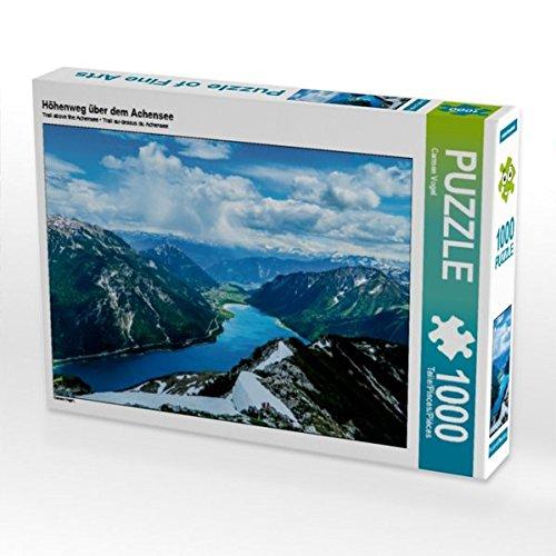 Höhenweg über dem Achensee 1000 Teile Puzzle quer (CALVENDO Natur)