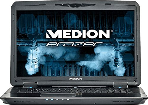 "Medion Erazer X7833 - Ordenador portátil con pantalla de 17.3"" FullHD (Intel Core i7-4710MQ, 16 GB RAM, 1 TB HDD + 128 GB SSD, NVIDIA GeForce GTX 970 3GB, Windows 8.1) color negro - Tclado QWERTY español"
