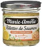 Marie Amélie Rillettes de Saumon Thym/Citron Confit 90 g - Lot de 6