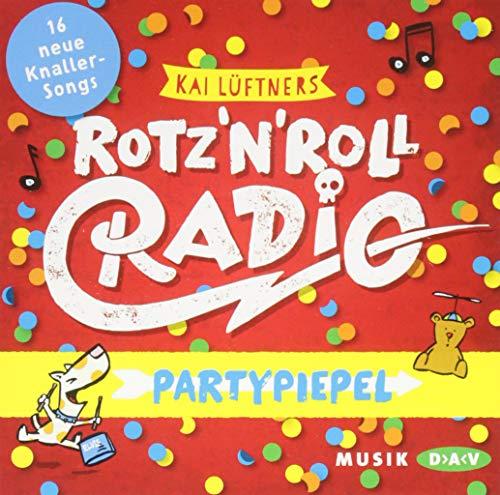 ROTZ 'N' ROLL RADIO - Partypiepel: Musik-CD (1 CD)