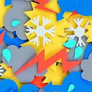 CI l-fv8758Espuma Weather Formas Adhesivo (60Piezas)
