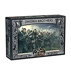 CoolMiniOrNot CMNSIF301 Game of Thrones A Song of Ice and Fire: Night's Watch Sworn Brothers Expansion, Mehrfarbig