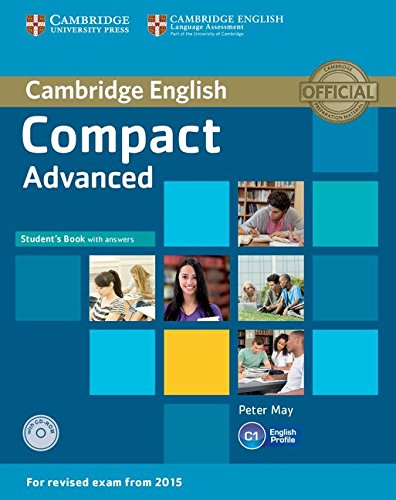 Compact Advanced Student's Book with Answers with CD-ROM por Peter May