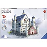 Ravensburger Spieleverlag 12573 - Schloss Neuschwanstein - 216 Teile 3D Puzzle-Bauwerke