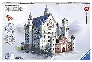 Ravensburger 12573 - 3D Puzzle Building Castello di Neuschwanstein